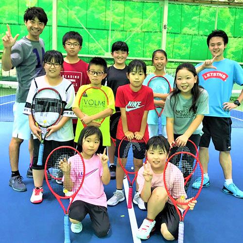 レッツ!テニスパーク飯塚のジュニアたち
